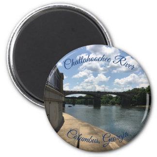 Chattahoochee River Columbus, Georgia Magnet