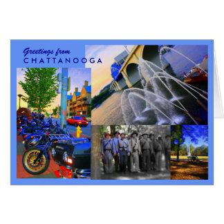 Chattanooga Greetings Card
