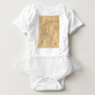 Chattanooga Tennessee 1870 Baby Bodysuit