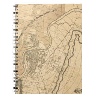 Chattanooga Tennessee 1870 Notebook