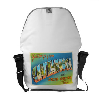 Chattanooga Tennessee TN Vintage Travel Souvenir Commuter Bags