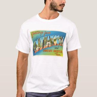 Chattanooga Tennessee TN Vintage Travel Souvenir T-Shirt