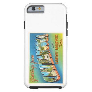 Chattanooga Tennessee TN Vintage Travel Souvenir Tough iPhone 6 Case