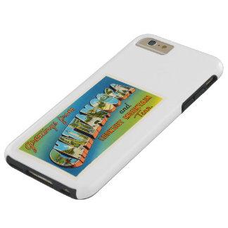 Chattanooga Tennessee TN Vintage Travel Souvenir Tough iPhone 6 Plus Case