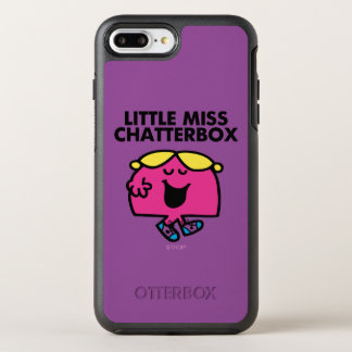 Chatting With Little Miss Chatterbox OtterBox Symmetry iPhone 7 Plus Case