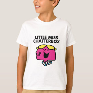 Chatting With Little Miss Chatterbox Tee Shirts