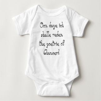 Chaucer Blog: For thyne infaunt! Baby Bodysuit