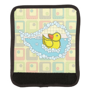 Chaucer the Rubber Duck Luggage Handle Wrap