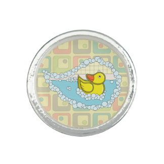 Chaucer the Rubber Duck Ring