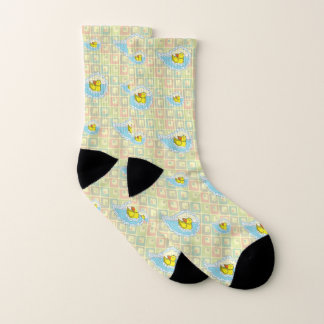 Chaucer the Rubber Duck Socks 1