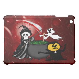 Chaudron de faucheuse et de fantôme coque pour iPad mini
