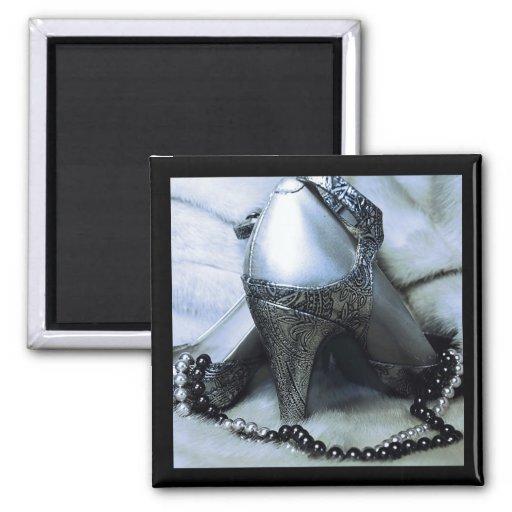 Chaussure et aimant de conception de perles
