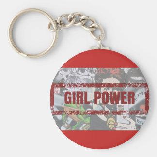 Chaveiro Girl Power Keychain