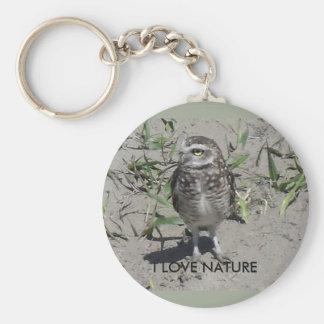 Chaveiro I love nature Keychain