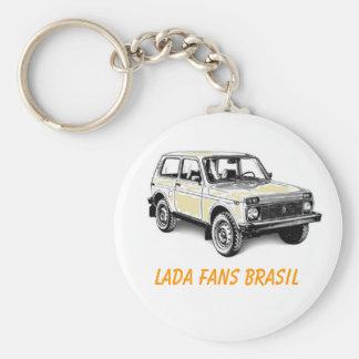 CHAVEIRO LADA FANS BRAZIL KEYCHAIN