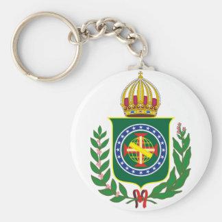 Chaveiro Monarquista Basic Round Button Keychain