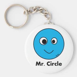 Chaveiro Mr. Circle By Par3a Keychain