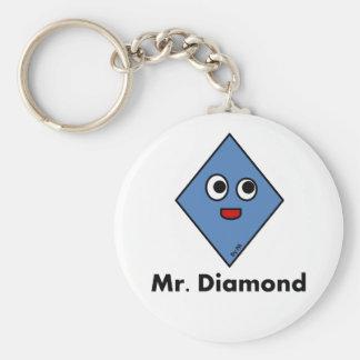 Chaveiro Mr. Diamond By Par3a Basic Round Button Keychain