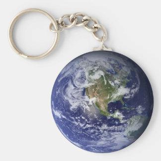 Chaveiro Planet Land Basic Round Button Keychain