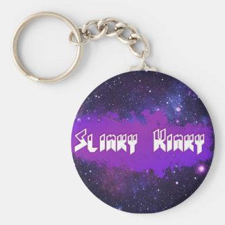 Chaveiro Slinky Kinky Basic Round Button Keychain