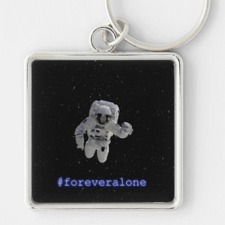 Chaveiro Squared Premium #foreveralone Keychain