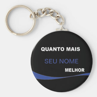 Chaveiro The more… Better Keychain
