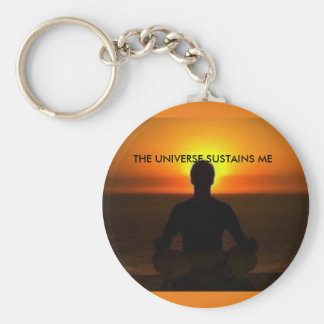 Chaveiro The Universe two Basic Round Button Keychain