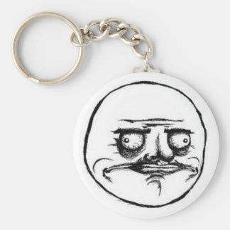 Chaveiro White Meme Keychain