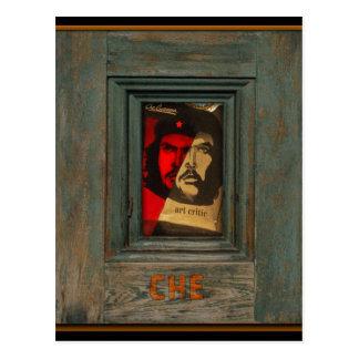 Che Art Critic Postcard