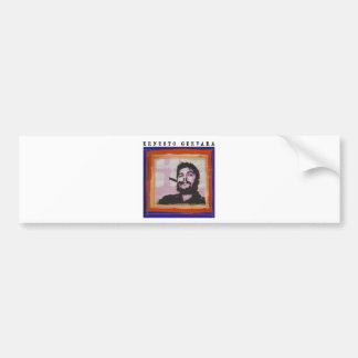 Che Guevara Paint Bumper Sticker