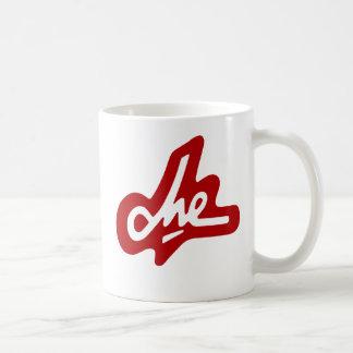 Che Guevara Red Signature Coffee Mug