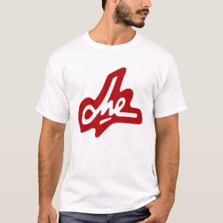 Che Guevara Signature - Red  on White T-Shirt