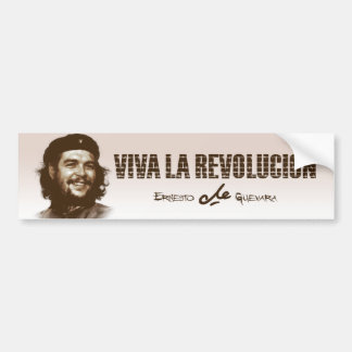 Che Guevarra Smile Bumper Sticker