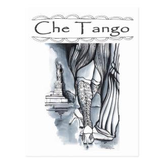 Che Tango in New York Postcard