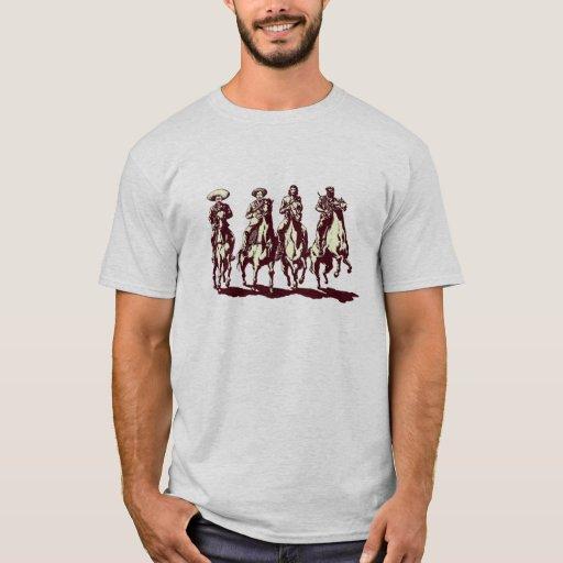 che,zapata,pancho villa,commandante marcos T-Shirt