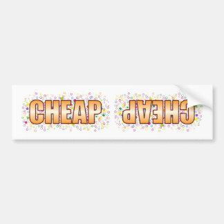 Cheap Bubble Tag Bumper Sticker