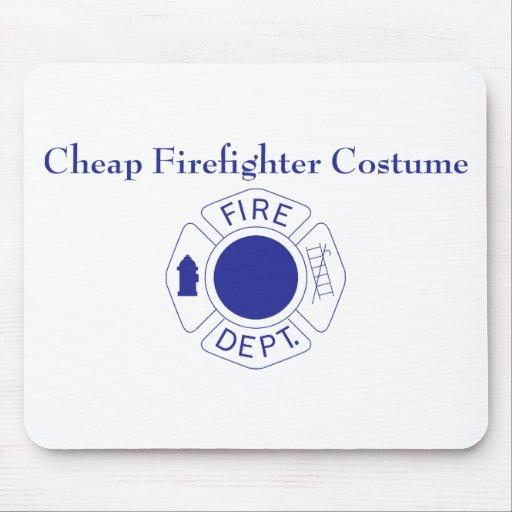 Cheap Firefighter Costume Mousepads