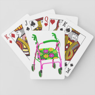 """Cheap Gag Gift """"Over the Hill"""" Playing Cards Funny"""