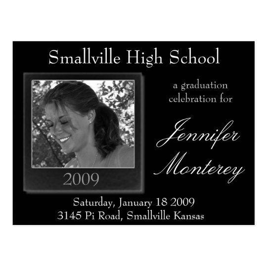 Cheap Graduation Invitations Photo Postcard