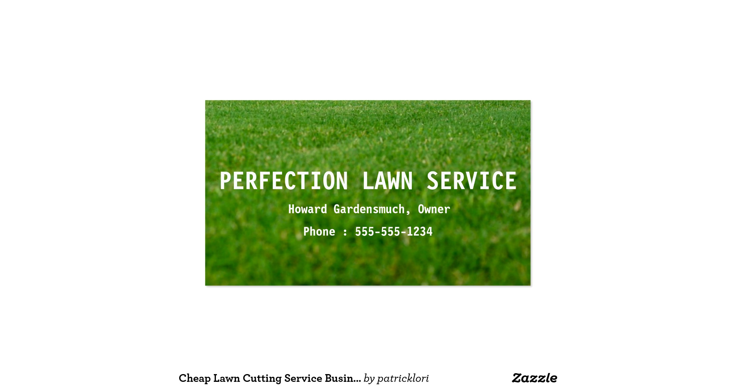 best of gallery of lawn service business cards business cards
