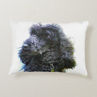 Cheap Old Poodle Pillow