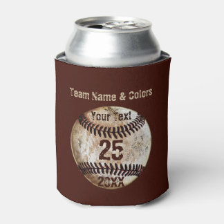 Cheap Personalized Baseball for the Team Can Cooler