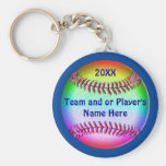 CHEAP Personalized Softball Team Gifts Basic Round Button Keychain