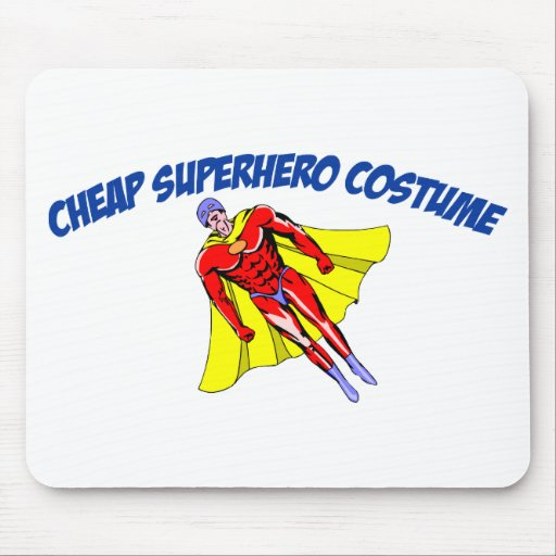 Cheap Superhero Costume Mousepad