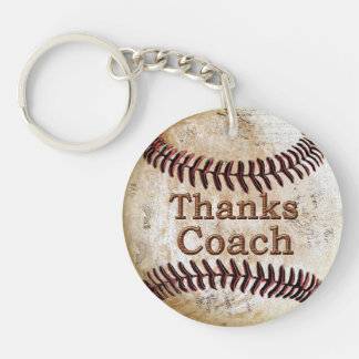 Cheap Thanks Baseball Coach Gift Ideas Keychain