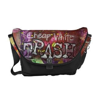 Cheap White Trash Messenger Bag