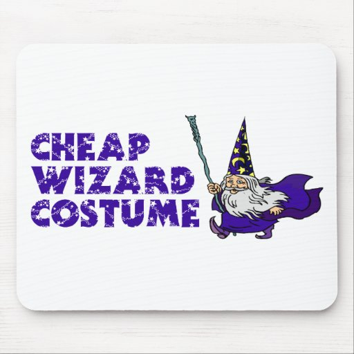 Cheap Wizard Costume Mouse Pad