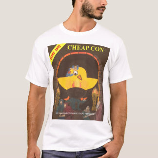 Cheapcon Chick color T-Shirt