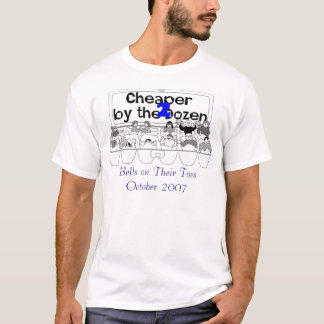 CHEAPER BY THE DOZEN 2 CAST SHIRT