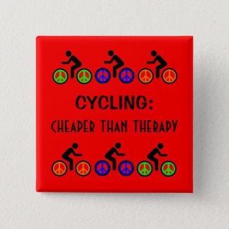 cheaper than therapy 2 inch square button